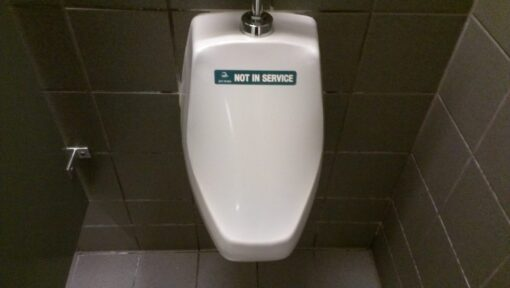JaniWrap Out of Order Urinal Cover