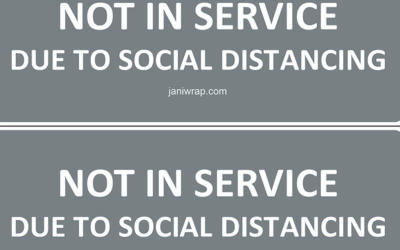Out of Order Labels for Social Distancing